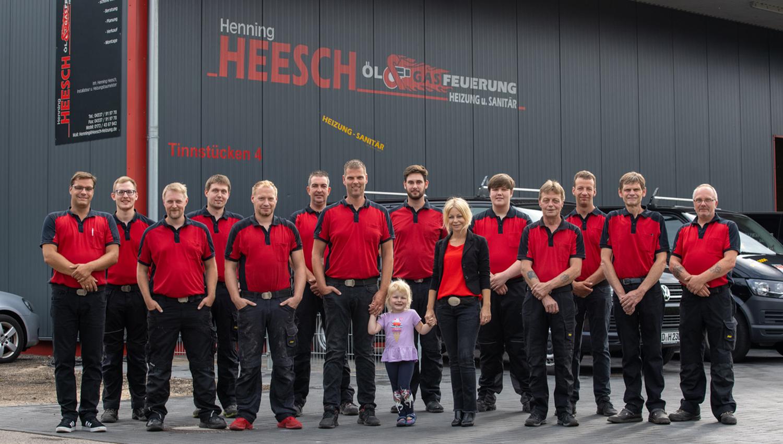 Henning Heesch Heizung & Sanitär - Team